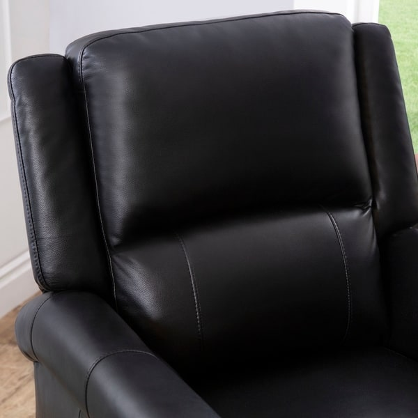 Terrific Shop Abbyson Marco Black Power Lift Massage Recliner On Ocoug Best Dining Table And Chair Ideas Images Ocougorg