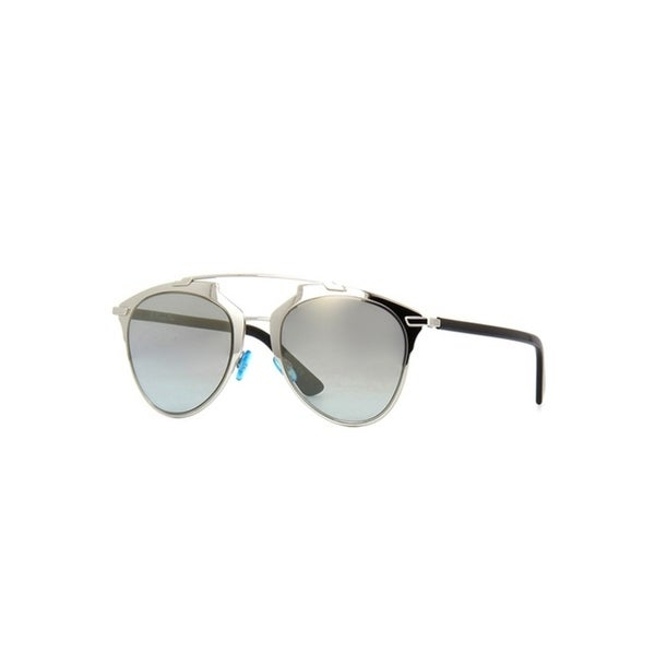 c311ef55628 Shop Christian Dior Women s Reflected Gold Metal Sunglasses - Free Shipping  Today - Overstock - 25583347
