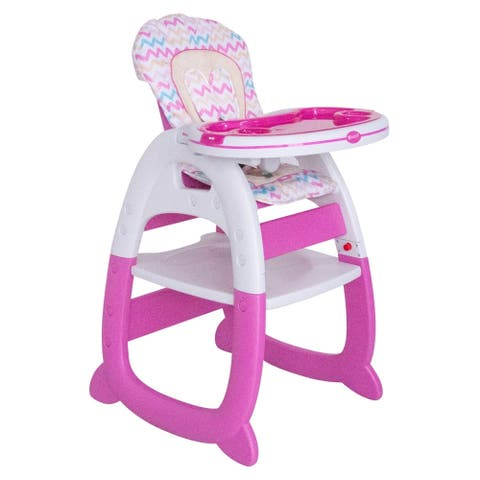 Evezo Rose Highchair/Desk combo