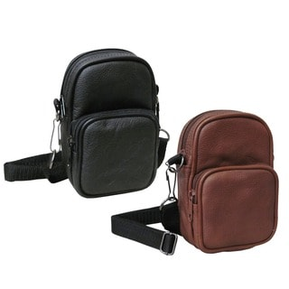 Leather Video/ Audio All-purpose Pouch