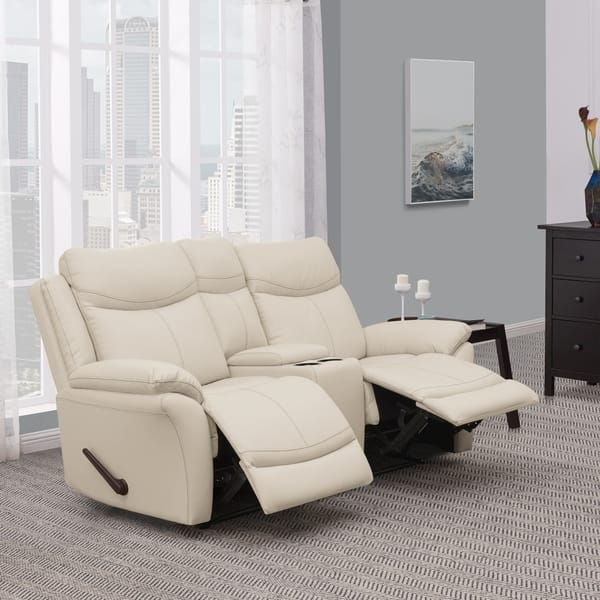 Sensational Shop Prolounger 2 Seat Faux Leather Recliner Loveseat With Uwap Interior Chair Design Uwaporg