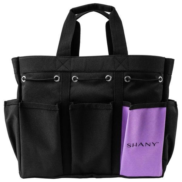 SHANY Beauty Handbag and Makeup Organizer Bag – Black Canvas. Opens flyout.