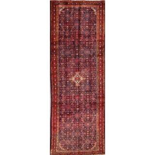 "Hamedan Hand Made Persian Traditional Rug Wool - 10'8"" x 3'8"" runner"