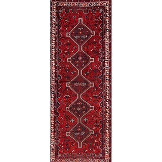 "Ghashghaei Persian Hand Made Wool Rug for Entryway - 9'7"" x 3'7"" runner"