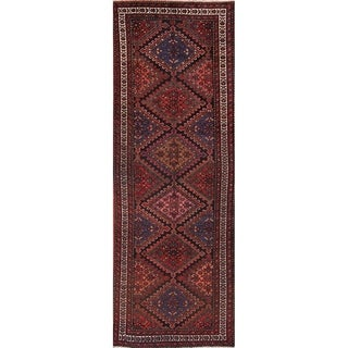 """Traditional Malayer Persian Rug for Hallway - 9'6"""" x 3'4"""" runner"""