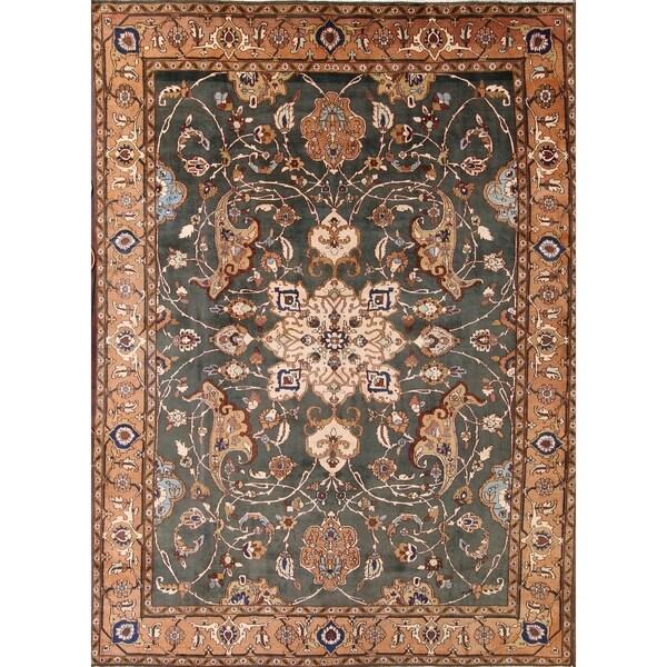 "Handmade Oriental Traditional Heriz Persian Area Rug for Living Room - 15'10"" x 11'5"""