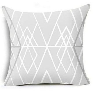Geometric Triangles Pillow Suqare Cover 14047118-88