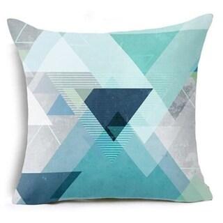 Geometric Triangles Pillow Suqare Cover 14047118-85