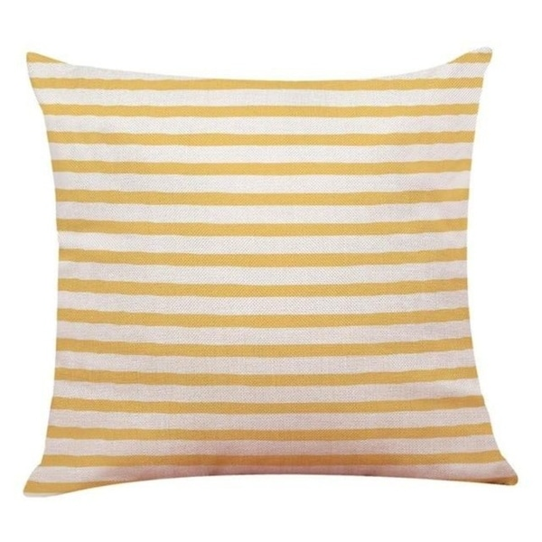 Love Geometry Striped Throw Pillow case 12655323-43