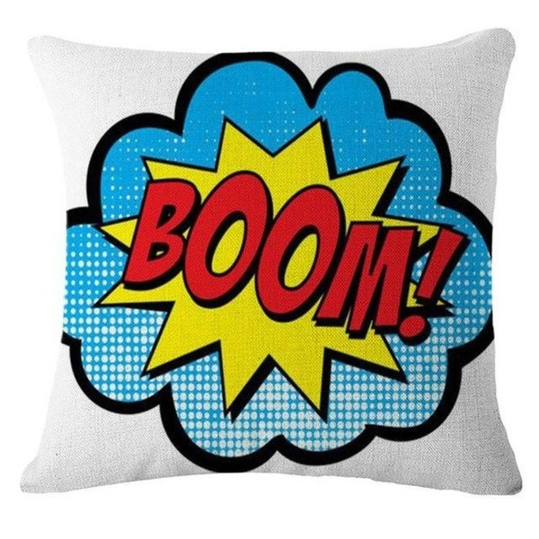 Letter Printed Pillow Case Sofa Cover 21302817-623