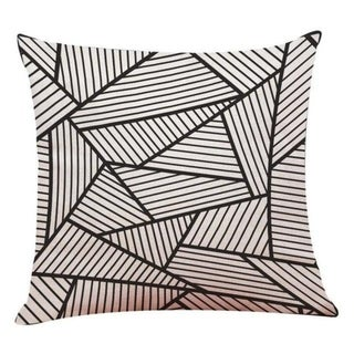 Linen Geometry Home Decor Cushion Cover 14113649-106