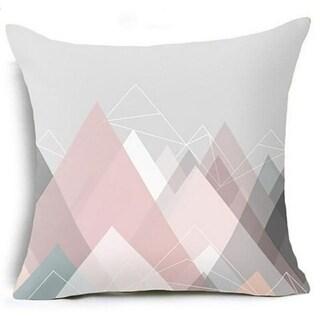 Geometric Triangles Pillow Suqare Cover 14047118-92