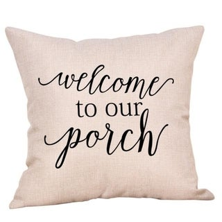 New Letter Pattern Throw Pillow Case 21304812-771