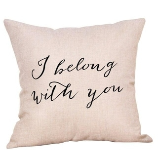New Letter Pattern Throw Pillow Case 21304812-768