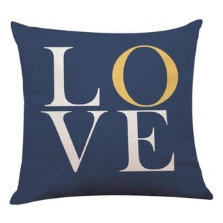 Love Geometry Striped Throw Pillow case 12655323-42