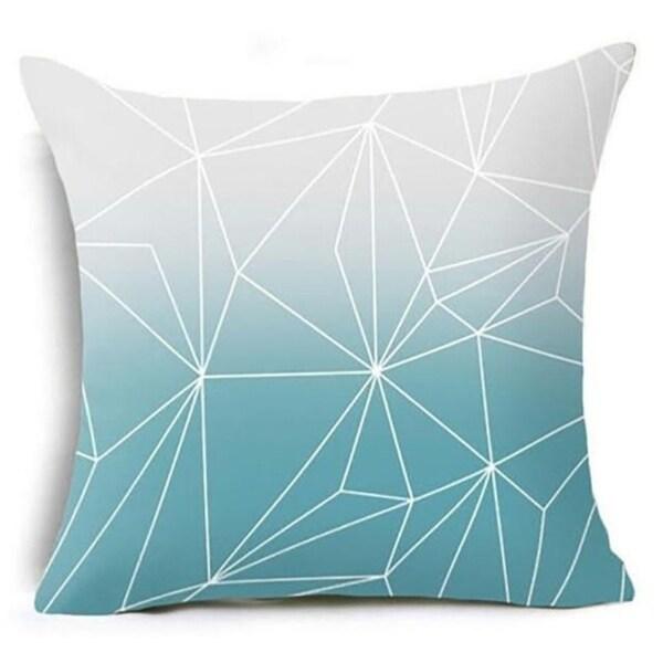 Geometric Triangles Pillow Suqare Cover 14047118-86