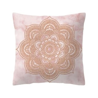 Rose Gold Pink Cushion Cover 21301898-505