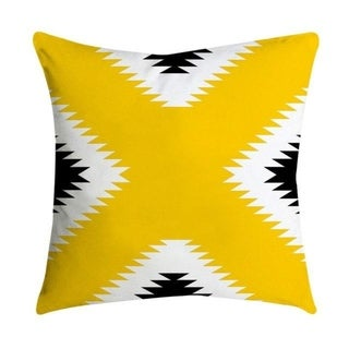 Pineapple Leaf Yellow Throw Pillow Case 21299285-321