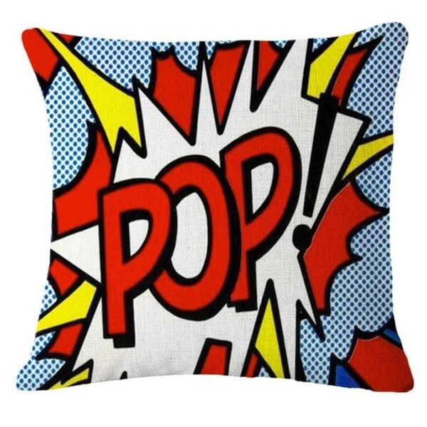 Letter Printed Pillow Case Sofa Cover 21302817-628