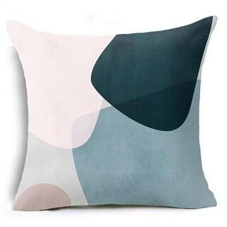 Geometric Triangles Pillow Suqare Cover 14047118-89
