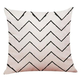 Linen Geometry Home Decor Cushion Cover 14113649-102