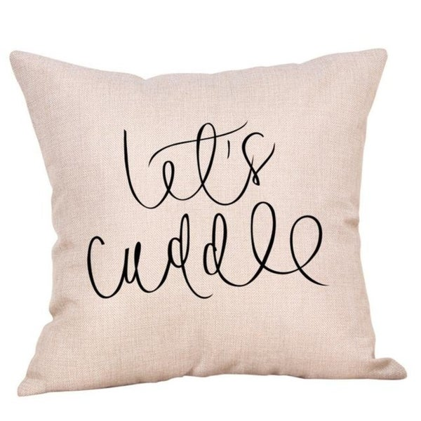 New Letter Pattern Throw Pillow Case 21304812-773