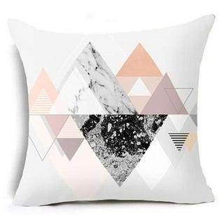 Geometric Triangles Pillow Suqare Cover 14047118-84