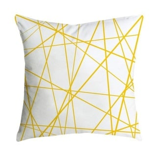 Pineapple Leaf Yellow Throw Pillow Case 21299285-323