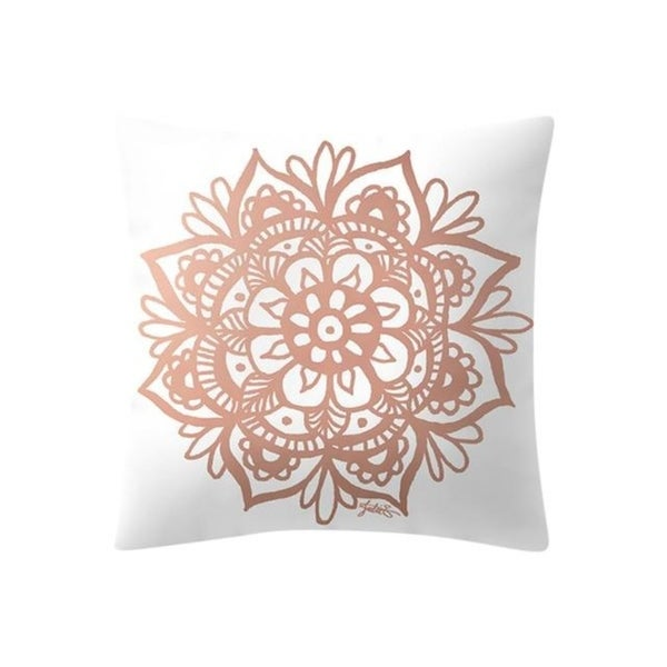 Rose Gold Pink Cushion Cover 21301898-503