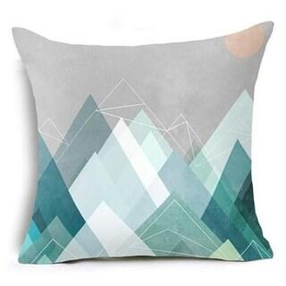 Geometric Triangles Pillow Suqare Cover 14047118-90