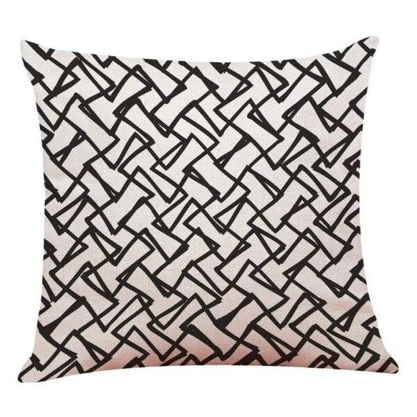Linen Geometry Home Decor Cushion Cover 14113649-104