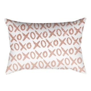 New Rose Gold Pink Throw Pillow Case Square 21301503-392