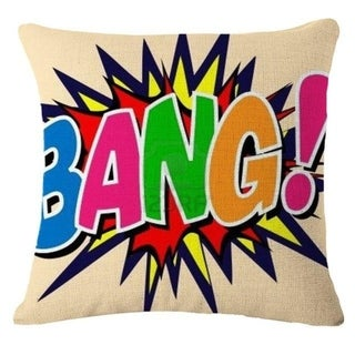 Letter Printed Pillow Case Sofa Cover 21302817-627