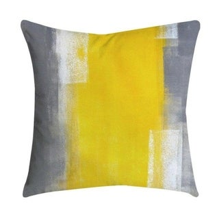 Pineapple Leaf Yellow Throw Pillow Case 21299285-320