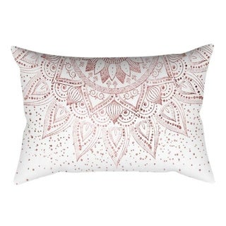 New Rose Gold Pink Throw Pillow Case Square 21301503-391