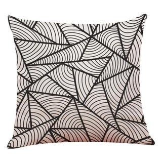 Linen Geometry Home Decor Cushion Cover 14113649-108