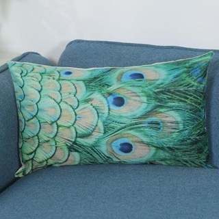 Vintage Retro Peacock feather Pillow Case 21302565-572