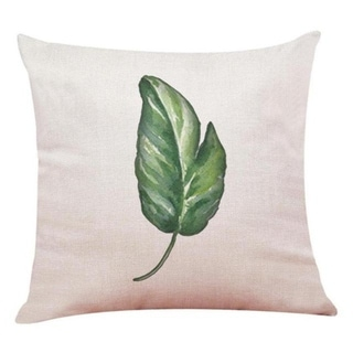 Big Leaf Tropical Plants Throw Pillow Covers 19280696-220