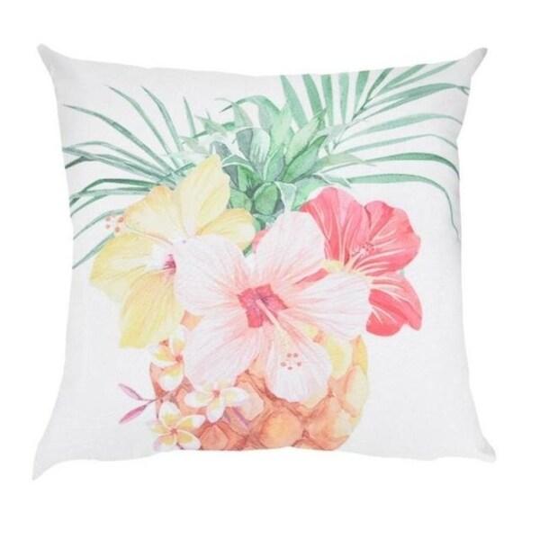 Summer Pineapple Flower Cushion Cover 45X45CM 21301876-478