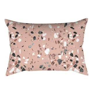 Rose Gold Pink Cushion Cover Square Pillowcase 21299964-364