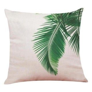 Big Leaf Tropical Plants Throw Pillow Covers 19280696-228
