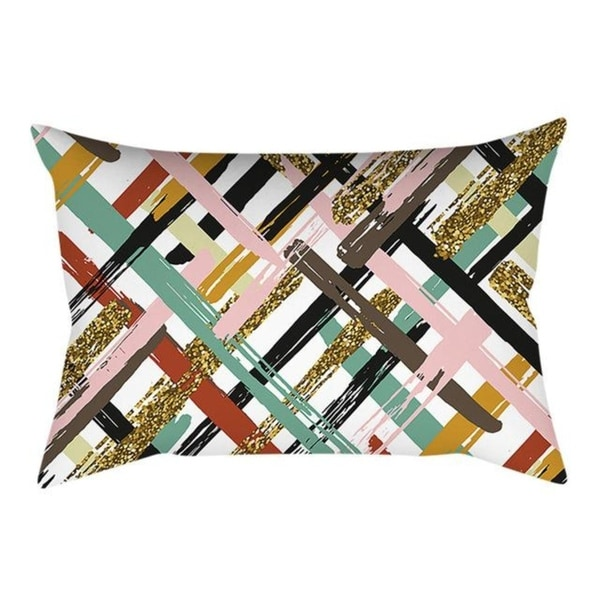 Printed Throw Pillow Case 30X50cm Home Decor 21302363-539