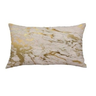Marble pattern Linen fabric Cushion Cover 30x50cm 18174136-210