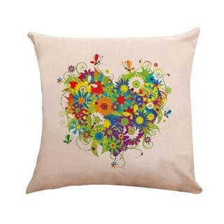 Love Heart Pattern Throw Pillow Case 45x45cm 21304856-780