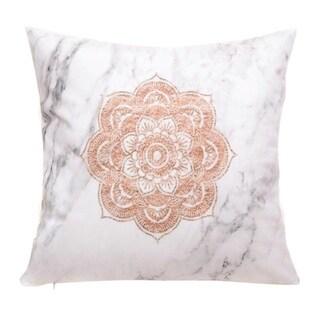 Geometric Cushion Cover 45x45cm Marble Texture 20722313-266