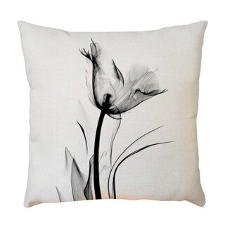 Plant Flower Pattern Throw Pillow Case 45x45cm 21302588-578