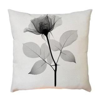 Plant Flower Pattern Throw Pillow Case 45x45cm 21302588-576