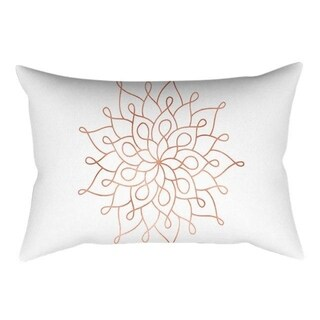 Rose Gold Pink Cushion Cover Square Pillowcase 21299964-362
