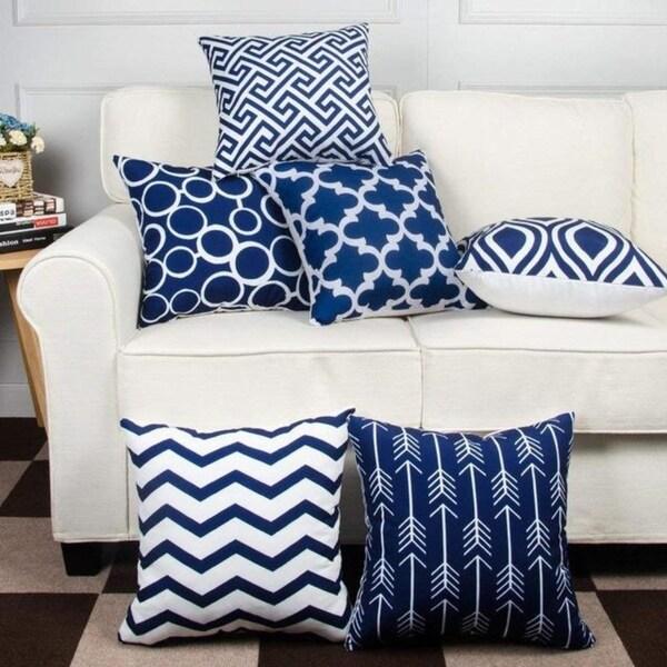6PC/Set Home decor Decorative Pillowcase 18X 18cm 21298671-309