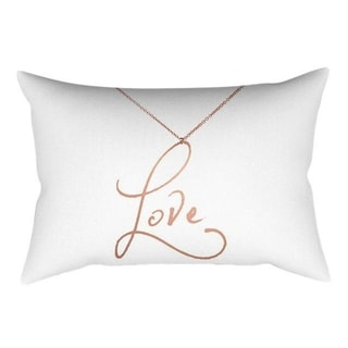 Rose Gold Pink Cushion Cover Square Pillowcase 21299964-365